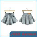 Wholesale New Design Girl Jean Mini Skirt (JC2045)