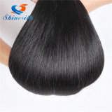 Shinesilk Straight Brazilian Hair Products Virgin Hair Bundles Natural Black Color 1b