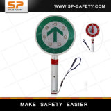 Rechargeable LED Stop Sign with Handle