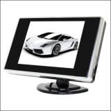 Caredrive Square LCD Monitor 3.5 Inch Car Roof Mount Monitor with TV