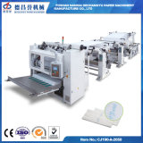 Ce, ISO Certification Full Automatic V Fold Facial Paper Folder Making Machine