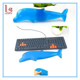 Custom Transparent Silicone Computer Keyboard Wrist Rest Pad