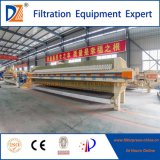 High Capacity Program Controlled Automatic Chamber Filter Press for Oil Industry Treatment