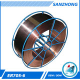 Factory Wholesale ABS Certificated Aws Standard Er70s-6/E71t-1 Open Type Flux Cored Solid TIG MIG Submerged Arc Welding Wire