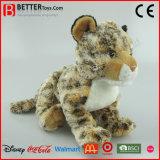 Cheap Stuffed Wild Animal Plush Lifelike Leopard Children Toy
