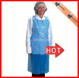 Transparent Cooking LDPE HDPE CPE Apron in Box