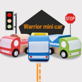 Creative Mini Wooden Car Pull Back Car Multi-Pattern Children Educational Toys for Kids Toddlers