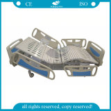 Clinical Used Five Functions Hospital Motorized Adjustable Cheap Intensive Care Bed Factory Wholesale