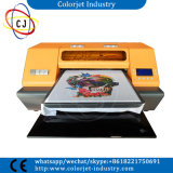 Multifunction A3 Size T-Shirt Printing Machine DTG Flatbed Printer