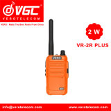 2W UHF Pocket Two Way Radio 16CH Walkie Talkie Yellow