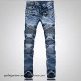 Wholesale Fashion Clothes Men′s Wash Stretch Jeans Slim Pants