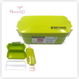 Plastic Bento Lunch Box for Kids with Lock (850ml)