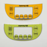 Custom Silk Printing Polycarbonate Nameplates Graphic Overlay