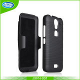 Anti-Dirt Hybrid 2 in 1 Detachable Combo Cover for Huawei Y 360 with Holster Protective Cloth