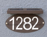 Fq-544 LED Address Plate by Solar Power House Numbers Light