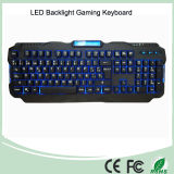 Spanish Layout Red/Purple/Blue Backlight LED PRO Gaming Keyboard (KB-1901EL)