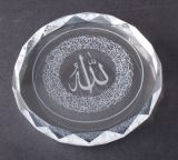 Round Crystal Ashtray with Competitive Price