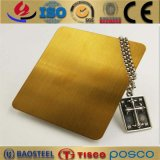Colorful Decorative Stainless Steel Sheet 201 304 Series Titanium Coating Different Colors for Selection