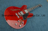 DIY Guitar Kits / Es 335 Jazz Electric Guitar in Red / Musical Instruments (TJ-278)