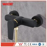 Gold Plated Top Selling Wall Mounted Bath Shower Mixer Taps Hot and Cold Black Faucets