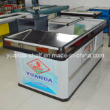 Stainless Steel Cash Table Counter for Supermarket