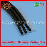 175 Deg PVDF Kynar Black Heat Shrink Tubing