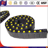 Engineering Enclosed Plastic Roller Drag Cable Chain