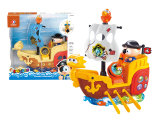Electric Pirate Toy Boat Battery Operated Toy (H6683057)