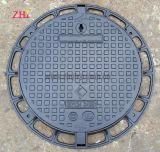 Custom Best Price SMC Composite Manhole Covers En124 with 120 Degree Hinge