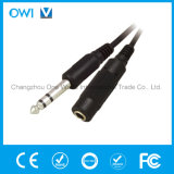 Audio-Video Cable 6.3mm Stereo Plug to 3.5mm Stereo Jack