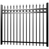 Easy Assembly Solid China Powder Coated FT 3rails Cheap Aluminum Tube Fence Panel Swimming Pool Safety Fencing