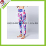 Customized Yoga Wear with Printing Fitness Colorful Women Yoga Leggings
