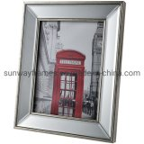 Plastic Photo Frame with Mirror Glass