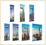 Economic 25mm Aluminum Tubing Straight Banner Stand with Steel Feet