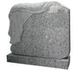 European Tombstone with Cross Shape Carving Headstone
