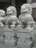 White Marble/Granite Stone Hand Carved Garden Sculpture/Statue/Animal Carving for Garden Landscape