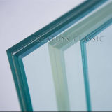 6.38-39.52mm Sandblasted Clear Tempered Glass for Shower Room
