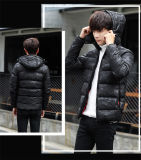 Fashion Black Waterproof Warm Winter Men′s Down Jackets