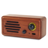 Wholesale Logo Customization New 20W Solid Wood Retro FM Radio MP3 Player Portable Bluetooth Speaker