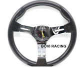 13 Inch 14inch Car Racing Carbon Steering Wheel Universal 320mm350mm