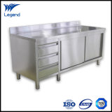 Top Quality Stainless Kitchen Cabinets with Flat Pack
