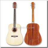 "[Winzz] 41"" Dreadnought Solid Top Acoustic Guitar"