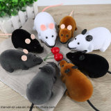 Pet Cats Toys Wireless RC Gray Kids Cat Toys Remote Control Mouse