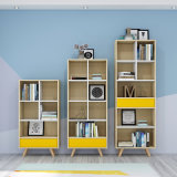Modern Office Book Cabinet Home Bookcase Book Shelf