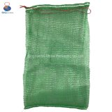 China Factory UV Treated 25kg 50kg Firewood Vegetable Onion Potato Fruit Packaging PP Tubular Net Mesh Bag with Drawsting