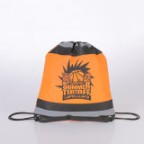 Waterproof Reflective Custom Cheap Printed Non Woven Drawstring Bag
