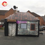 6*4*5mh Outdoor Party Lawn Portable Inflatable Pub Tent