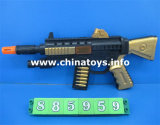 Cheaper Price Plastic Toy Sparking Gun for Children (885959)