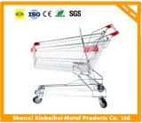 150L Asian Style Supermarket Shopping Carts Type Trolleys