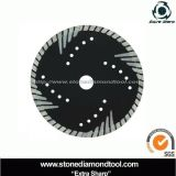 Turbo Caved Diamond Saw Blade for Granite (HN-9)